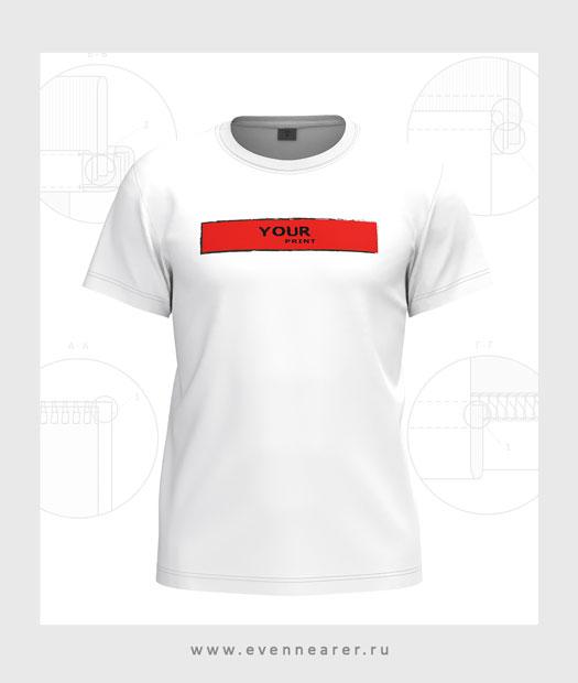футболка 3D